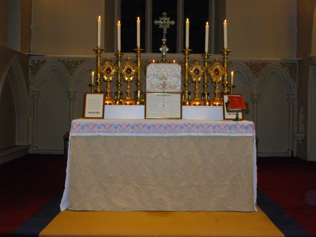 High Altar, Our Lady Immaculate Church, Chelmsford