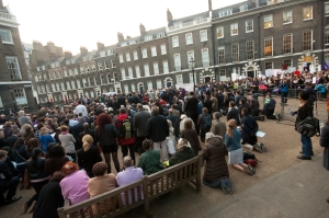 Picture of the Vigil from Dr Joseph Shaw's Blog