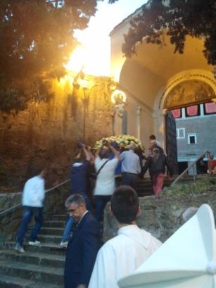 May Procession in San Saba, Rome