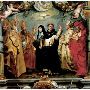 The Defenders of the Eucharist, by Sir Peter Paul Rubens