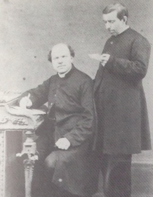 Abbot Guedens and Father Thomas Aquinas van Biesen