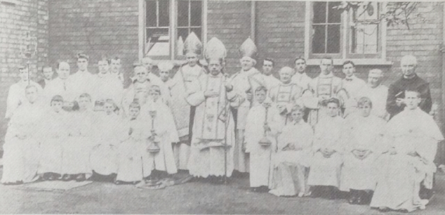 Consecration of St Norbert Spalding 1904