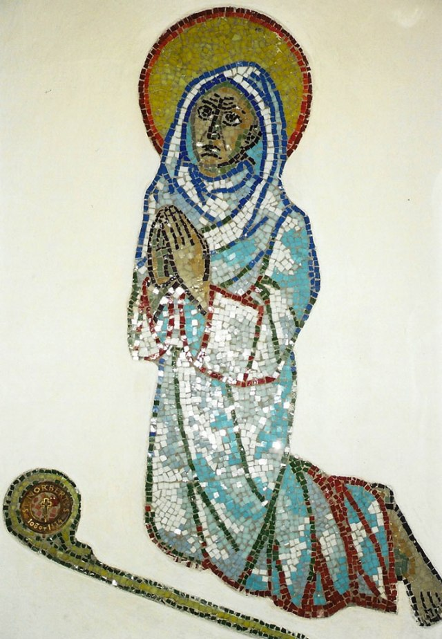 He entered Magdeburg barefoot, clad in the garment of poverty
