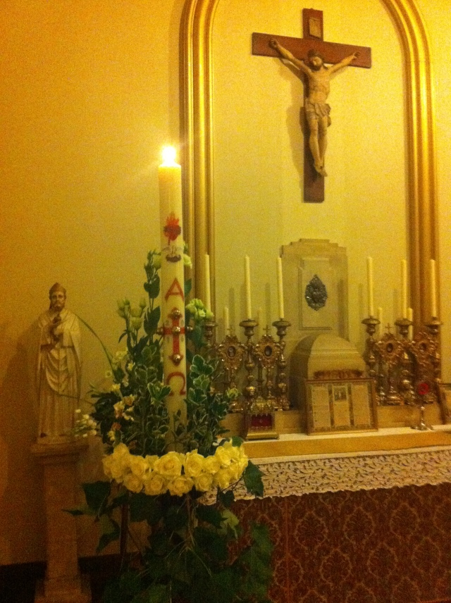 Paschal candle 2016